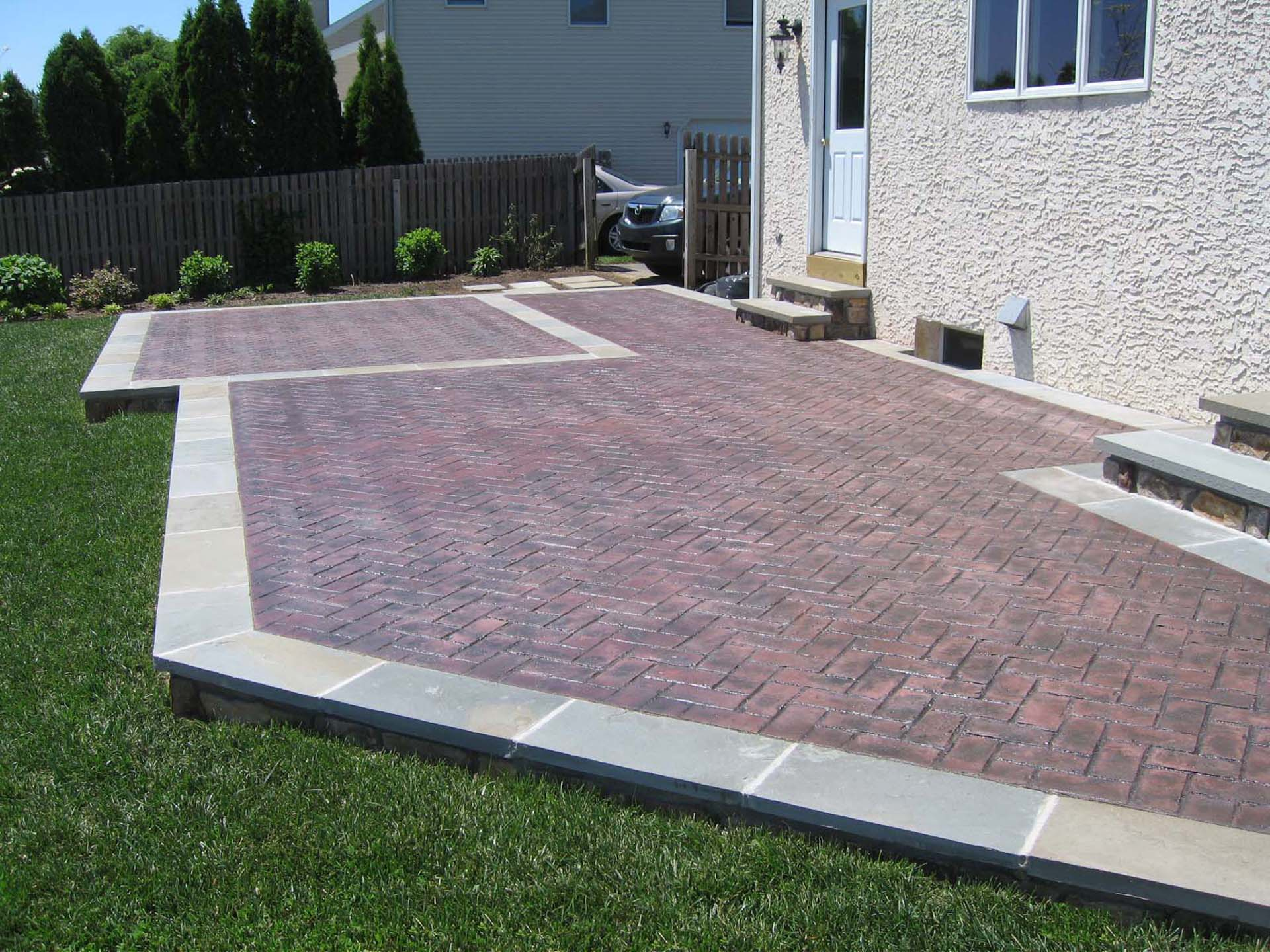 Decorative Brick Stamped Concrete Raised- DiSabatino