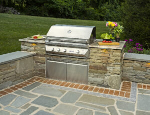 Cowan - Kennett Square, PA 19348-Outdoor Kitchen by DiSabatino Landscaping & Esposito Masonry
