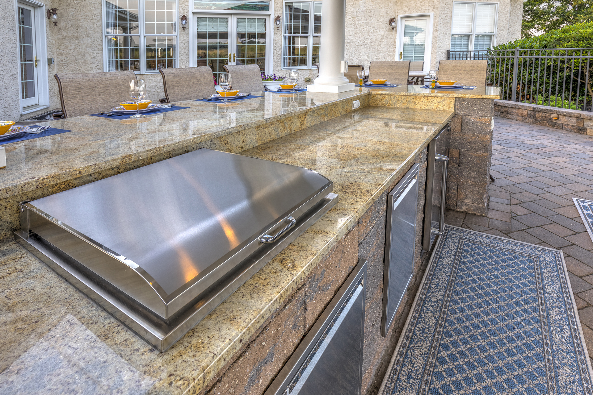 Piccinotti After-13_Oxford, PA 19363 -Outdoor Kitchen by DiSabatino Landscaping & Esposito Masonry