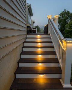 Custom deck lighting -Sherin After_Wilmington, DE 19803 - DiSabatino