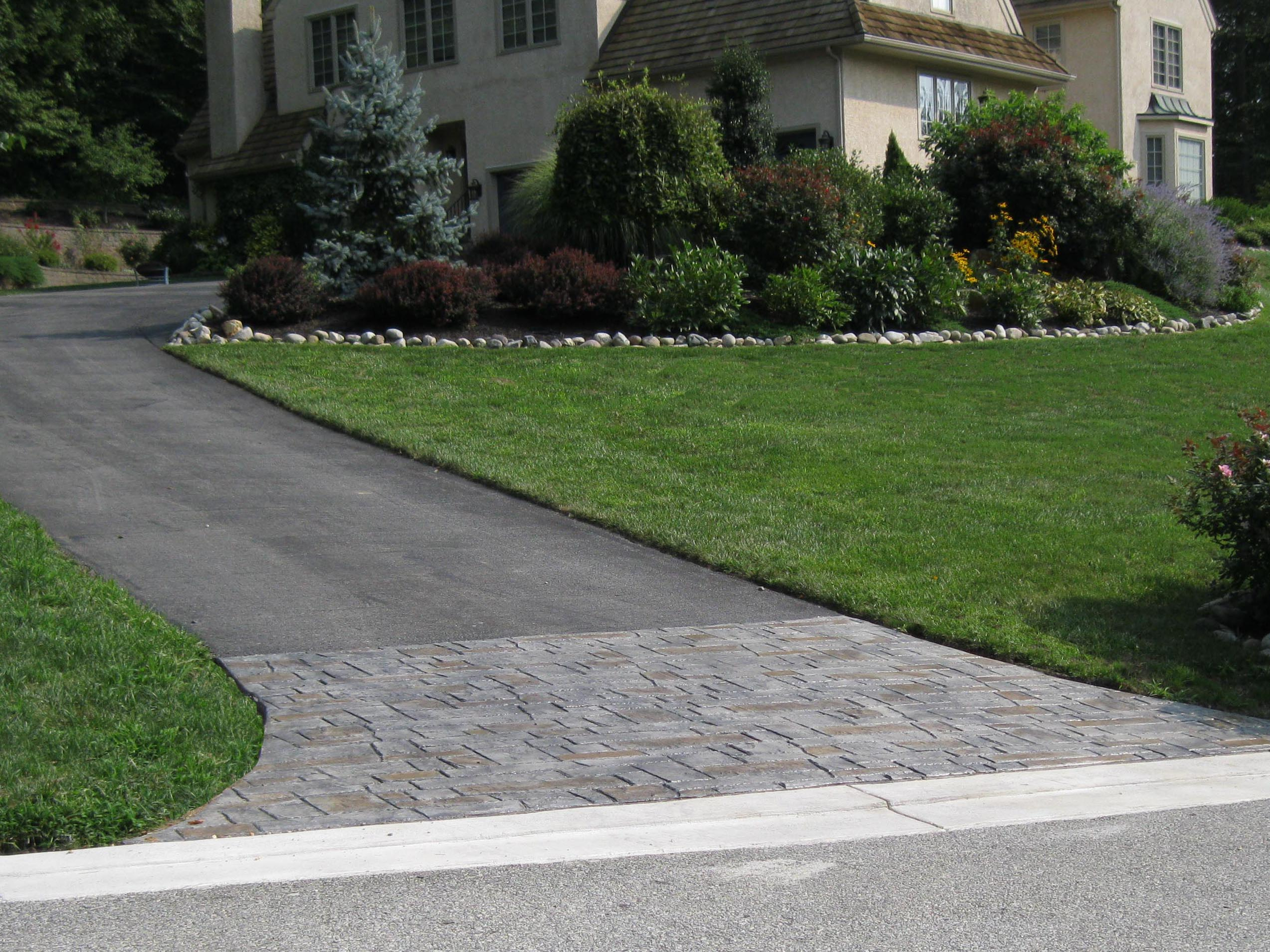 Decorative Stamped Concrete Driveways, Walkways and Patios