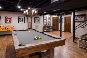 Custom Basement Renovations - Game Room (Chahalis)