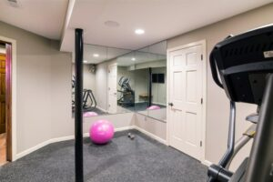 Custom Basement Renovations - Gym (Chahalis)2