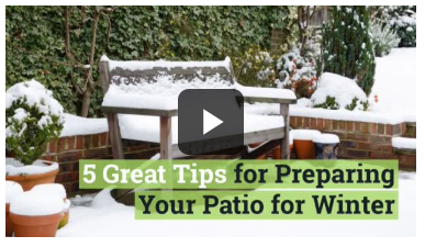 5 Winter Patio Tips