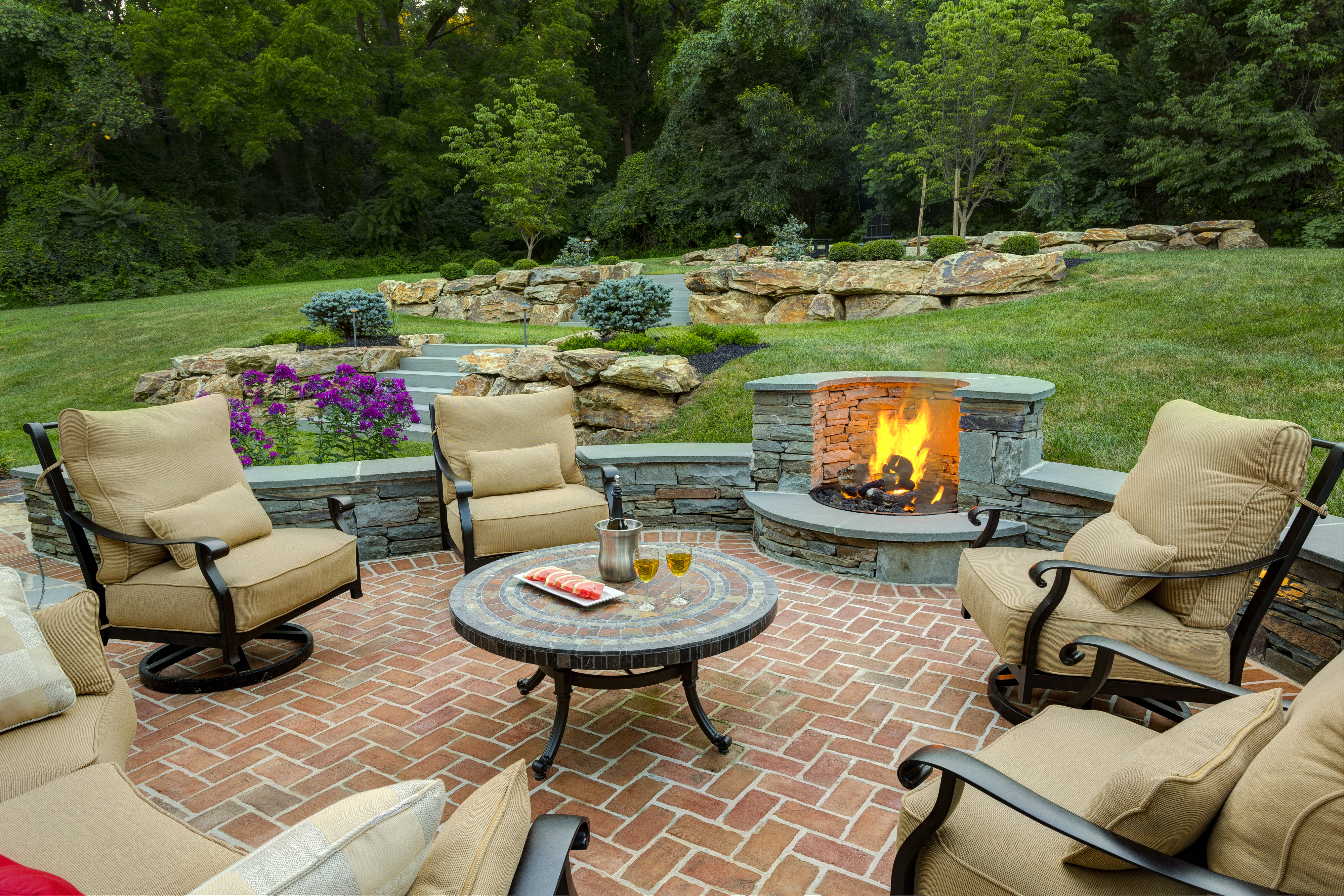 Outdoor Fire Pit Designers Delaware Outdoor Fireplaces Fire