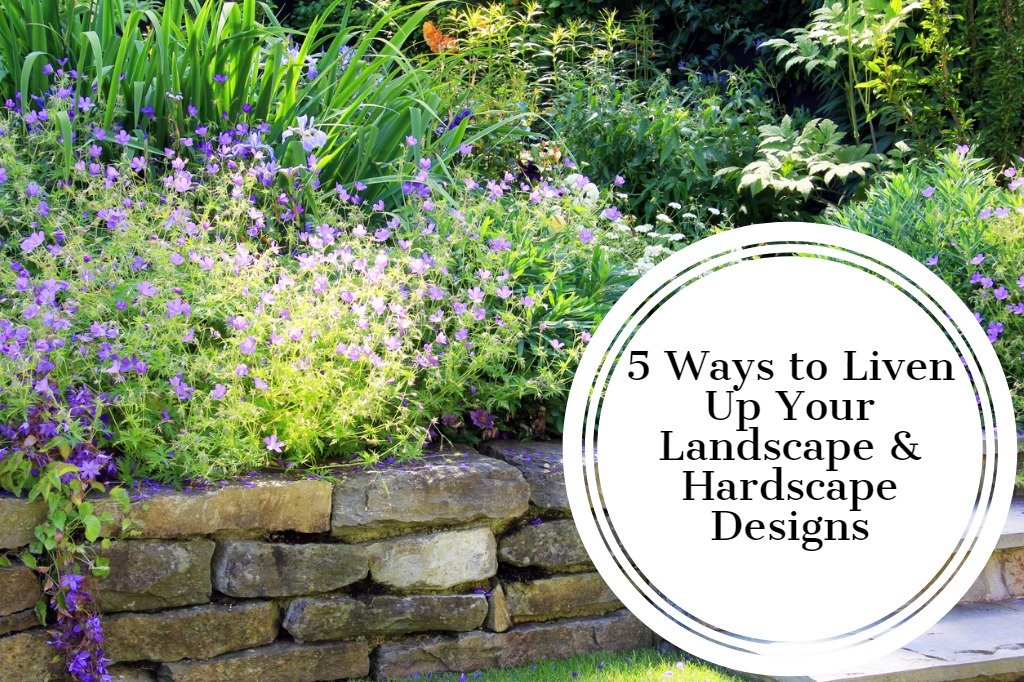 5 Ways to Liven Up Your Landscape & Hardscape Designs