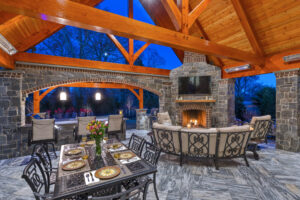 outdoor living rooms